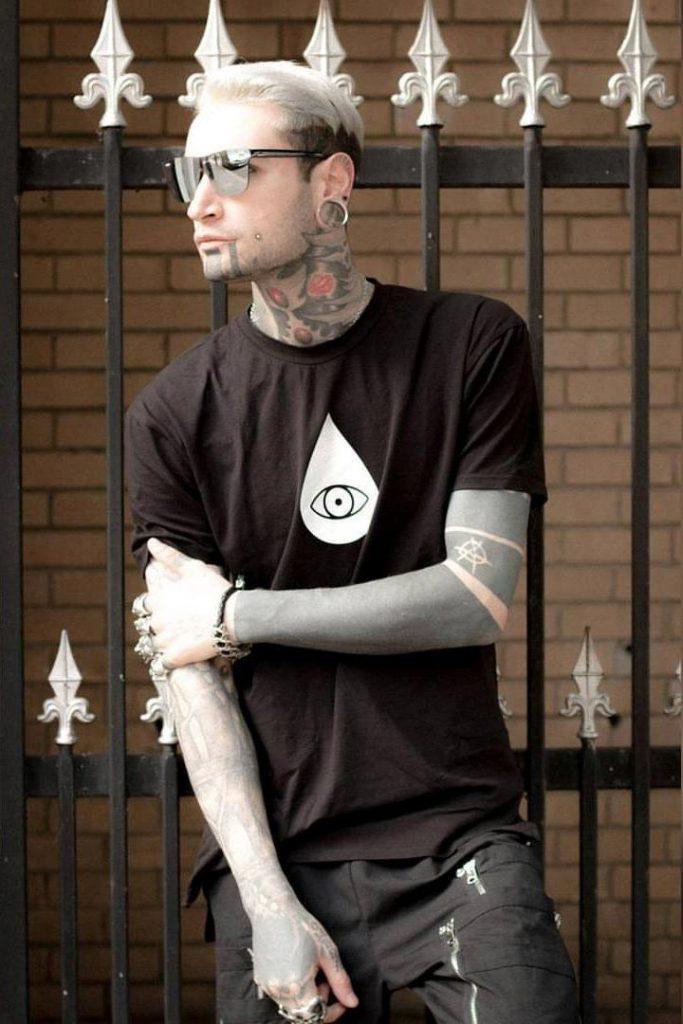 Christian tattoo model - I am management