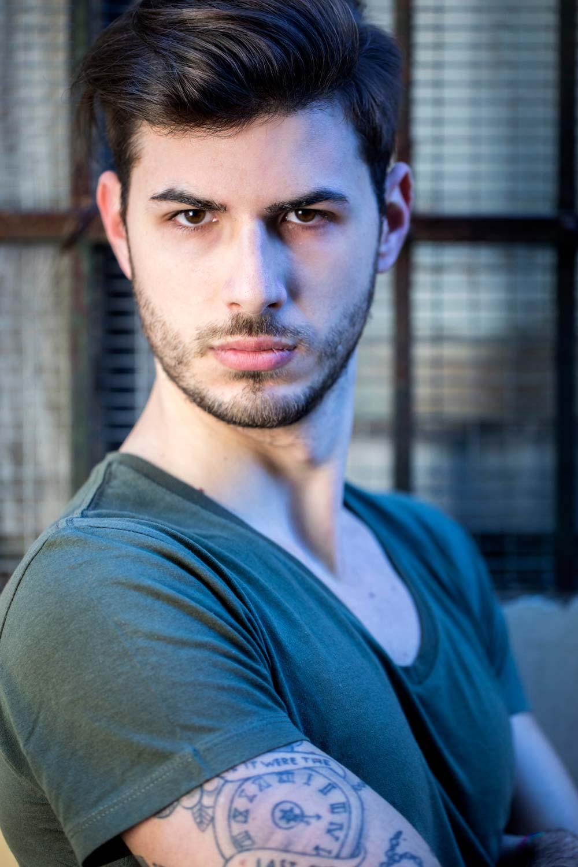 Emiliano P - modello Roma e Milano per shooting, sfilate, cataloghi, spot, adv - I am management