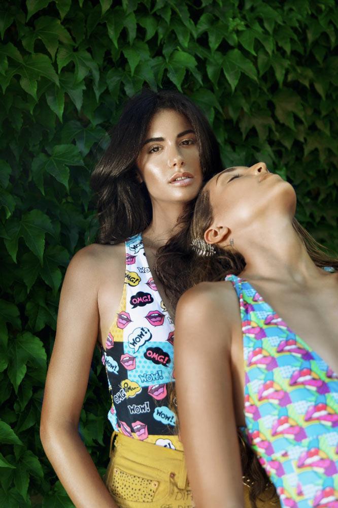 Modella costumo da bagno - beachwear model