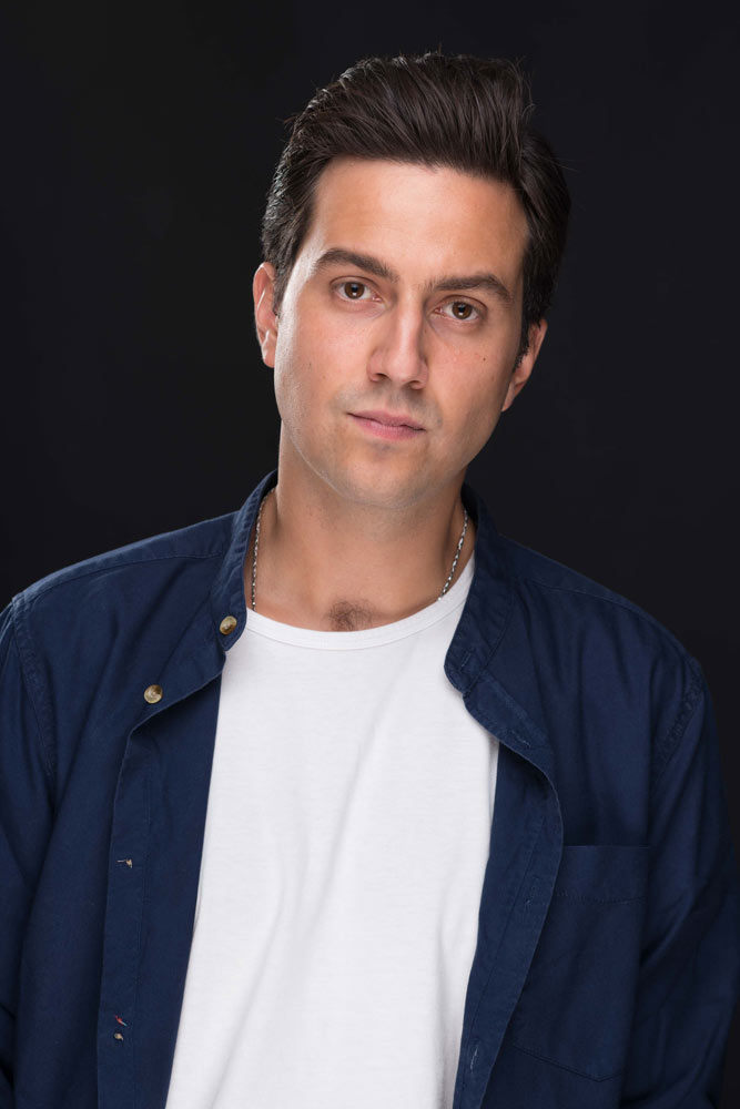 Matteo Cianci attore per cinema spot, televisione, teatro. Actor for commercials, films, tv series
