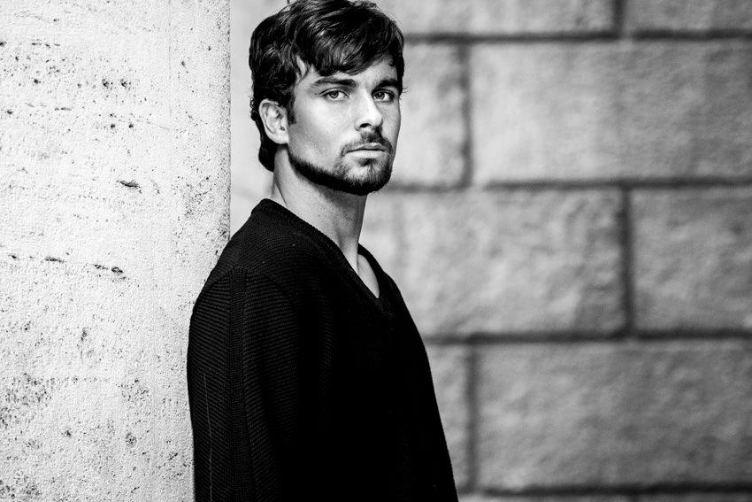 Carlo P modello e attore cinema, fiction e tv Roma - I am management