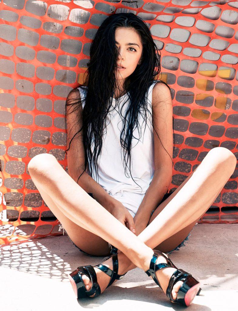 Marija model for shooting editorial catwalk