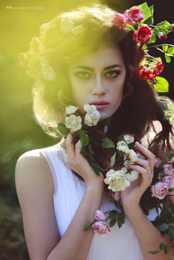 Pam modella intimo, modella swuimsuit, modella occhi azzurri per shooting fotografici a Roma