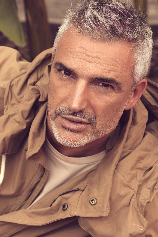 silver model, servizi fotografici, modello over 40, campagne pubblicitarie, spot