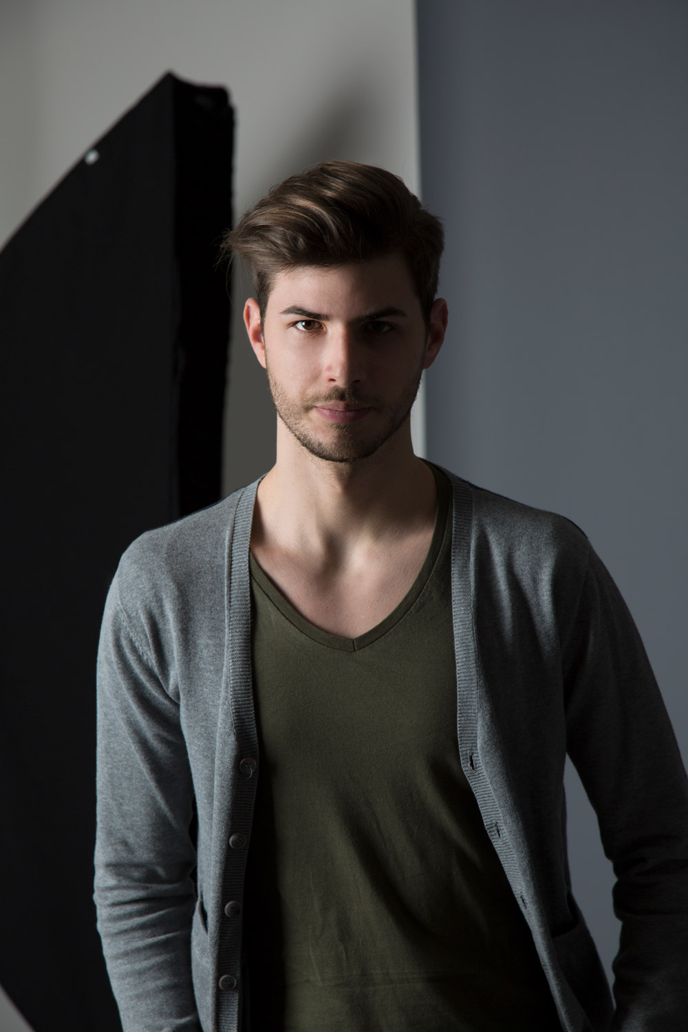 Emiliano P - modello Roma e Milano per shooting, sfilate, cataloghi, spot, adv - I am management