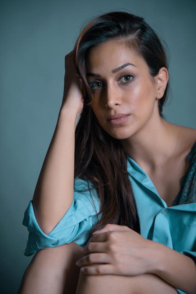 JALEH modella e attrice mediorientale