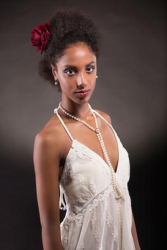 Maria Laura modella afro per sfilate shooting a Roma