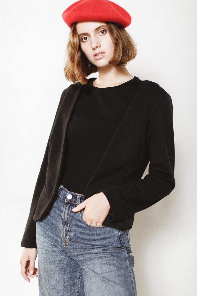 Zoe giovane modella new face capelli corti - Zoe short-haired model