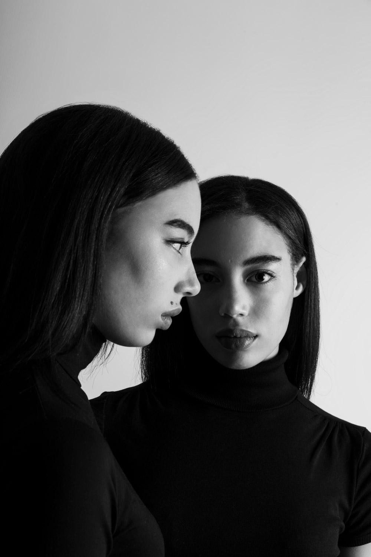 modella gemella mulatta sudamericana sfilate servizi fotografici cataloghi intimo