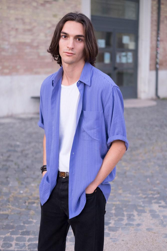 attore e modello androgino disponibile per moda, cinema  e spot pubblicitari