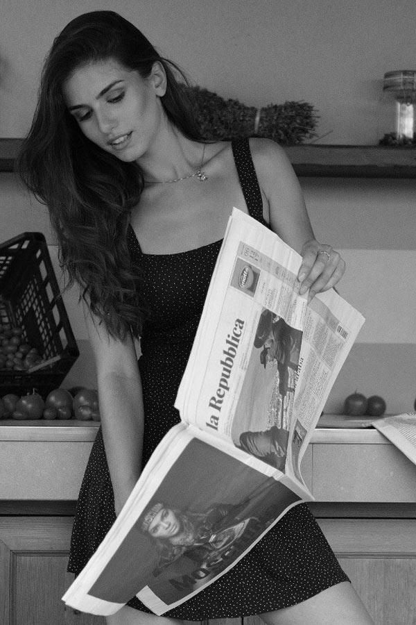 instragram shooting model  - modella per editoriali