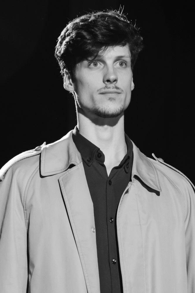 Matteo Bergano attore e modello Roma