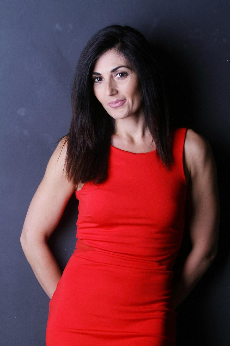 attrice ballerina presentatrice actress model dancer presenter Roma
