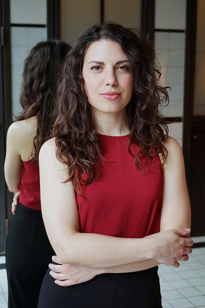 attrice e ballerina cinema serie tv spot pubblitari