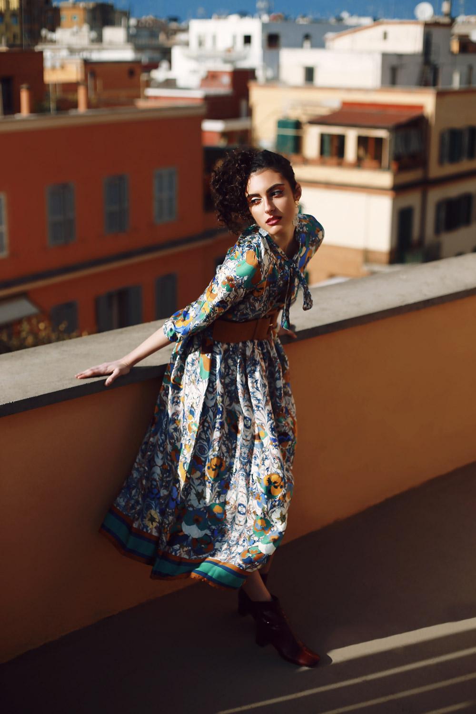 modella e ballerina romana - servizi fotografici e showroom - shooting and catwalk