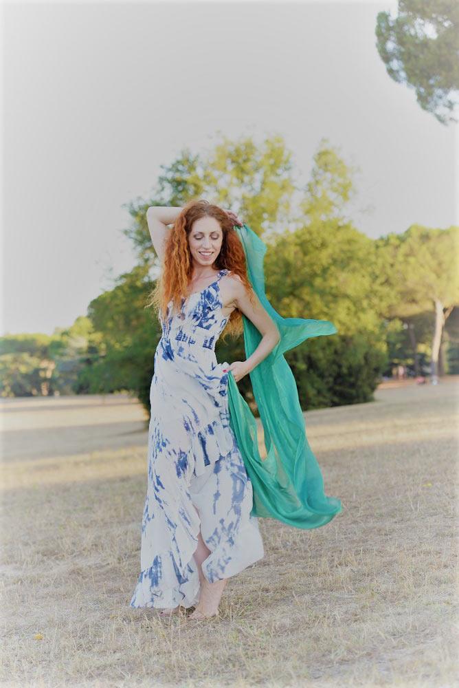 Rossella ambrossini attrice capelli rossi