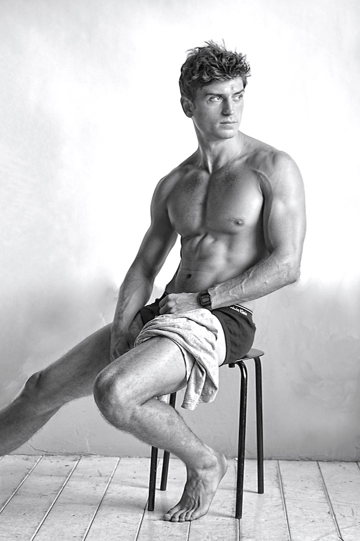 modello fitness e-commerce lookbook instagram model