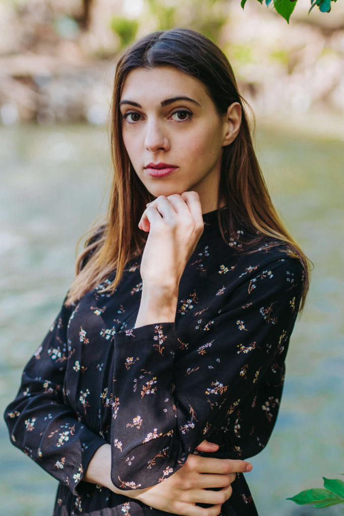giovane attrice a Roma per spot pubblicitari, cinema, serie tv