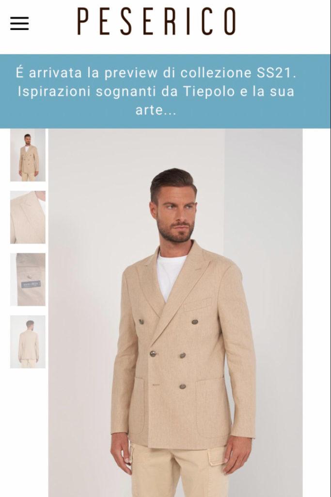 classic italian model blue eyes, modello per e-commerce, cataloghi, fitting